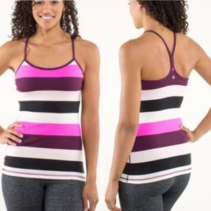 Lululemon Power Y Tank Fitted Racerback